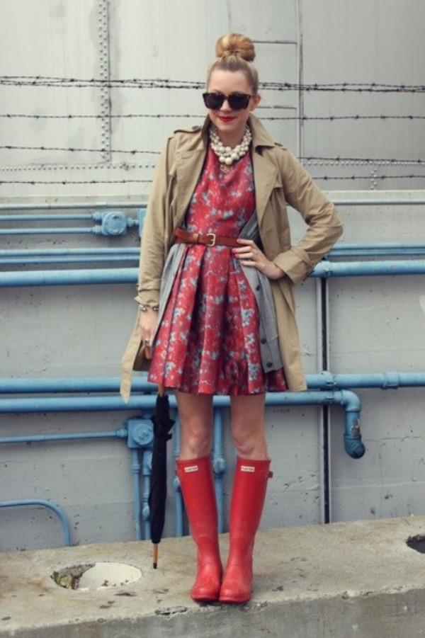 The Sound How To Style Rainy Day Outfits