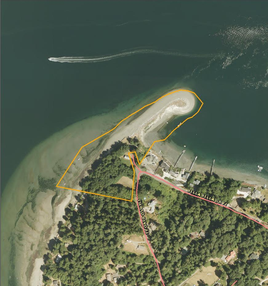 Fox Island Sand Spit