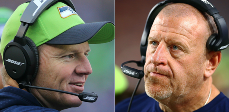 Caption: Seattle Seahawks fire OC, DC, and O-line coaches Darrell Bevell, Tom Cable and Kris Richards after rough season. Source:http://www.king5.com/article/sports/nfl/seahawks/seahawks-fire-offensive-coordinator-bevell-o-line-coach-cable/281-506751932.