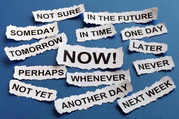 "Procrastination is about dealing with tasks at last minutes rather than completing it ""NOW!""  Photo Credit: https://wccftech.com/procrastination-nothing-lack-will-power-experts-say/"