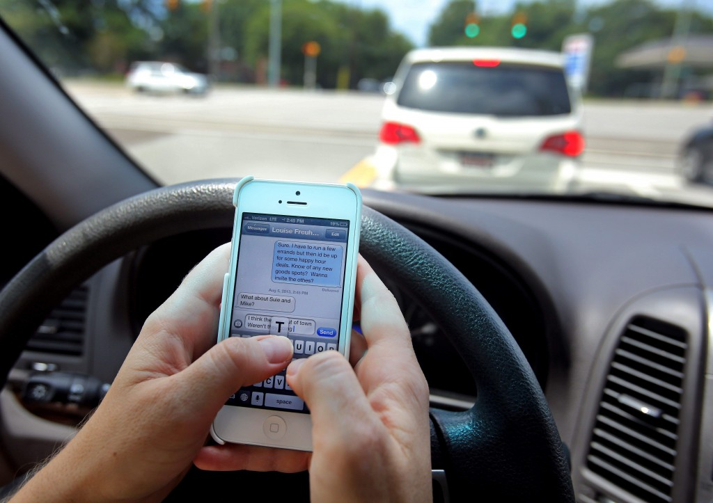 We all know that texting and driving is bad, but why do we keep doing it? 80 percent of students from high school through college text and drive. Photo credit: https://www.honkforhelp.com/explore/2016/talk-kid-texting-driving/