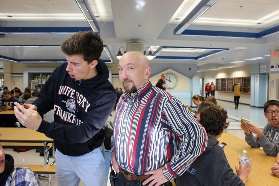 Senior+Alec+McLean+%2812%29+and+Assistant+Principal+Mr.+Frost.+Photo+taken+by+Jacqueline+Verrue.