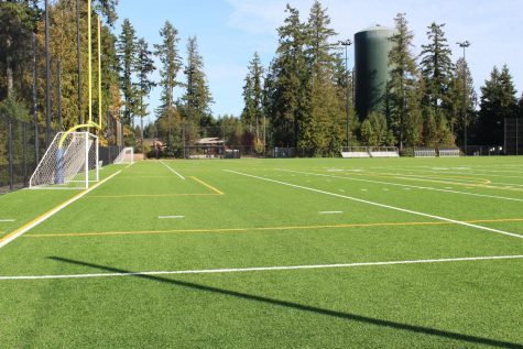 The new GHHS turf. Photo taken by Anya Wild.